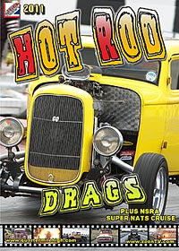 2011 nsra hot rod drags dvd cover