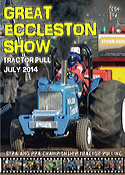2014 great eccleston show tractor pulling dvd